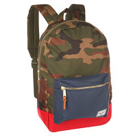 Рюкзак городской Herschel Settlement Woodland Camo/Navy/Red
