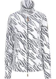 Куртка из мягкого флиса (дымчато-серый) Bonprix
