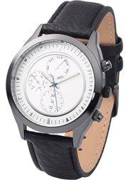 Мужские наручные часы в стиле хронометра (коричневый) Bonprix