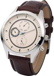 Мужские наручные часы в стиле хронометра (черный) Bonprix