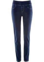Узкие джинсы-суперстретч без застежки (голубой) Bonprix