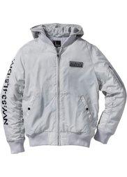 Куртка-бомбер Regular Fit (черный) Bonprix
