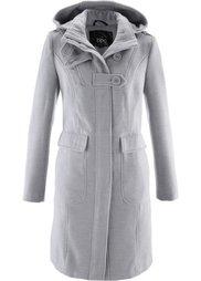 Пальто с капюшоном (черный) Bonprix