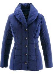 Стеганая куртка (серо-коричневый) Bonprix
