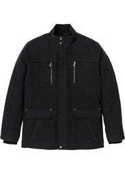 Удлиненная куртка Regular Fit (темно-синий) Bonprix