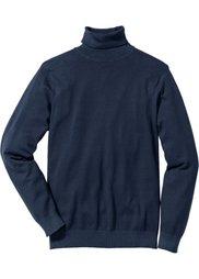 Пуловер Regular Fit с высоким воротником (виноградный) Bonprix