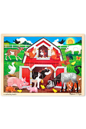 "Пазл ""Животные на ферме"" Melissa & Doug"