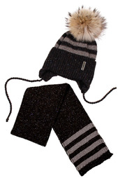 Комплект: шапка, шарф Aviva kids