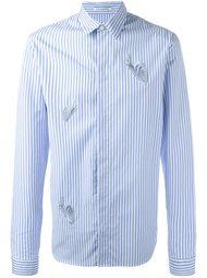 рубашка с вышивкой  J.W.Anderson