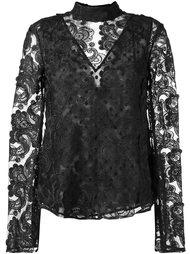 блузка с вышивкой  Perseverance London