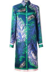 платье-рубашка с длинными рукавами Emilio Pucci