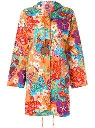 hooded light coat Kenzo Vintage