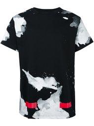 футболка с абстрактным принтом   Off-White