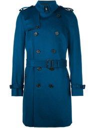двубортное пальто 'Kensington'  Burberry