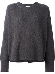 свитер с круглым вырезом Helmut Lang