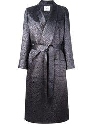 длинное пальто с поясом Racil