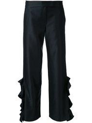 брюки с оборками Elaidi