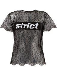 strict T-shirt Alexander Wang