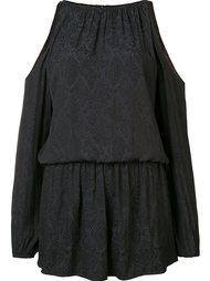 cold shoulder draped dress Ramy Brook