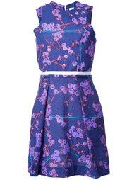 платье с цветочным узором Carven