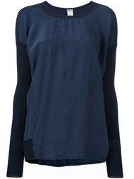 round neck knitted blouse Kristensen Du Nord