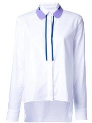 рубашка с контрастным воротником Carven