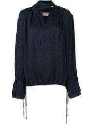 блузка с завязками на шее Lanvin