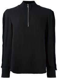 блузка с высоким воротником 3.1 Phillip Lim