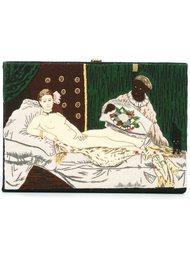 клатч-книга с вышивкой Olympia Le-Tan