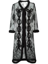 кружевное пальто  Christian Dior Vintage