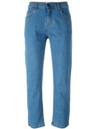 укороченные джинсы  Fendi