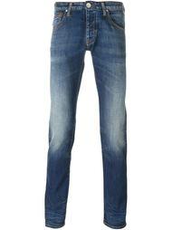выбеленные джинсы кроя скинни Armani Jeans