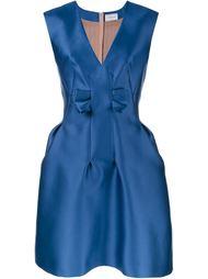 атласное платье без рукавов Lanvin