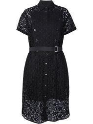 кружевное платье Sacai