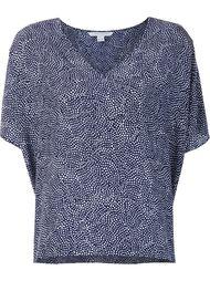 футболка свободного кроя Diane Von Furstenberg