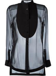 прозрачная блузка  Givenchy