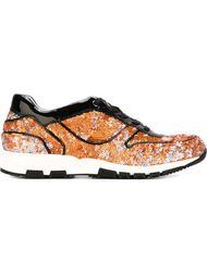 кроссовки с пайетками Lanvin