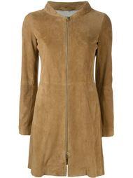 пальто на молнии с панельным дизайном Herno