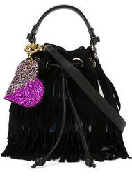 сумка-мешок с бахромой Forte Couture