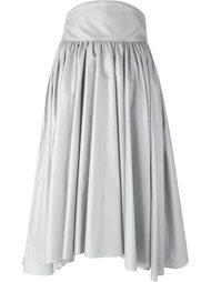 плиссированная юбка А-образного силуэта Olympia Le-Tan