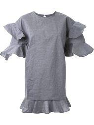 платье мини с оборками DressCamp