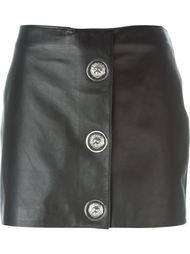 мини-юбка с застежкой на кнопки Versus