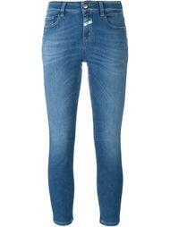 укороченные джинсы скинни Closed