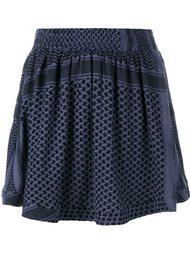 расклешенная юбка мини Cecilie Copenhagen