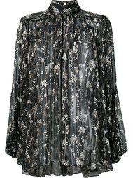 блузка с цветочной вышивкой 'Sakura'  Zimmermann