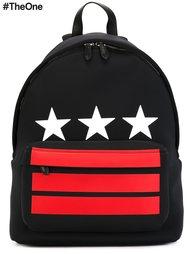 рюкзак со звездами и полосками Givenchy