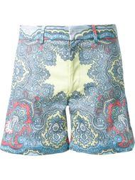 шорты  с принтом пейсли   DressCamp