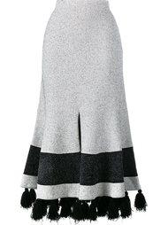 расклешенная юбка с кисточками Proenza Schouler