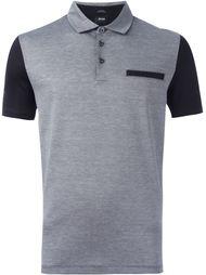 футболка колор-блок  Boss Hugo Boss