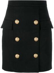 юбка на пуговицах  Balmain